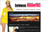 Serieuses RENCONTRE Franco - Russe